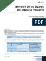 Intervencion de Los Organos Del Concurso Mercantil