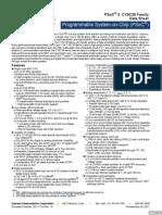 PSoC3 CY8C38 Family Datasheet