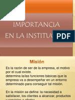Importancia Mision Vision y Filosofia[1][1]