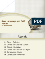 03 Java Language and OOP Part III