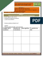 Cuadernillo Artistica 4b Sexto a-12-13
