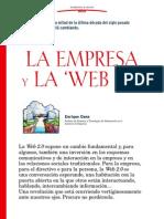 La Empresa y La Web2_0