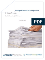 7 Steps to Identifying Your Organizations Training Needs White Paper Sept 2010
