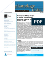 Principles of Flap Design in Dental Implantology