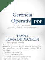Gerencia Operativa