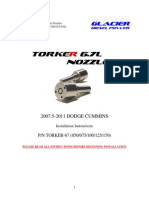 07.5-09 TORKER Nozzle Installation