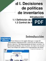UNIDAD I. Decisiones de Políticas de Inventarios (1)