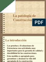 Patologia de La CONSTRUCCION Aybar