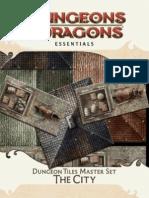 4° essentials - dungeon tiles master set - the city