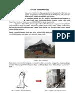 Rumah Adat Lampung Kenali