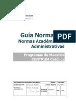 Guia Normativa de Programas de Maestrias