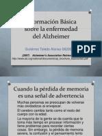Informacion Basica Sobre La Enfermedad Del Alzheimer