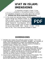Khilafat in Islam