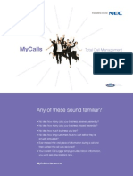 Mycalls Brochure