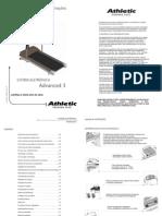 Esteira Manual advanced 3