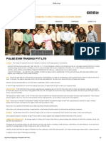 SDPR Group- Pulse Exim Profile