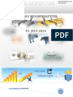 Daily Mcx Newsletter 01 July 2014