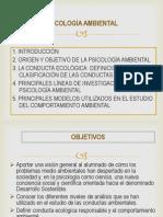 Diapositivas de Psicología Ambiental
