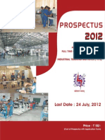 Delhi ITI Prospectus 2012