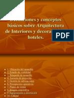 Definiciones y Conceptos Básicos Sobre Arquitectura de Interiores