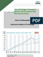 ADB-GIZ Green Freight Workshop - Day 1 Werner Rothengatther