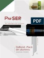 Manual de Prelucrare DeBond