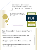 Common Sense Economics - What Everyone Should Know About Wealth & Prosperity