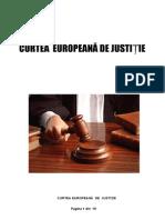 Referat- Curtea Europeana de Justitie