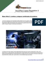 Guia Trucoteca Mass Effect 3 Playstation 3