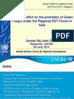 ADB-GIZ Green Freight Workshop - Day 2 Ganesh Raj Joshi