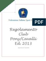 Regolamento Ludico 17-04-2013