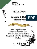 2013 14 CO Speech Handbook Combined