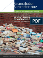 2012 SA Reconciliation Barometer FINAL