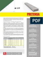 Ficha Tecnica Losa Hueca - PRETENSA