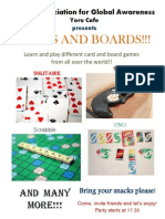 Cards and Boards
