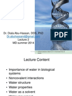 lecture 2 - water