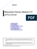 Mitsubishi Mel Sec Fx Cpu e A