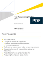 2013 Tax Accounting Update - Slides