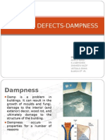 Building defects caused due to Dampness