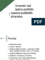 Uputstvo Za Seminarski
