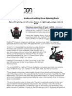 Eposeidon Introduces KastKing Orcas Spinning Reels