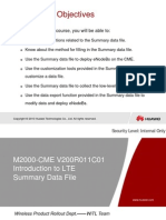 121787237 Training Document IManager M2000 CME V200R011 Introduction to LTE Summary Data File 20110823 B 1 0 Ppt