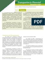 Transparência Florestal Out 2009