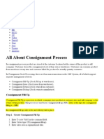All About Consignment Process