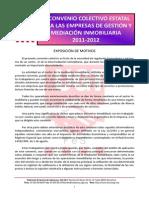 Gestión y Mediación Inmobiliaria Estatal Convenio 2011-2012