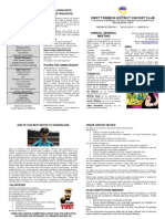 AGM Newsletter 2014/15