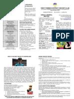 AGM Newsletter 2014/15