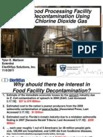 Decon - Chlorine Gas Application