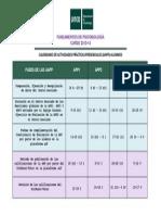 2013 Calendario de Aapp-Alumnos