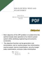 Presentation on OPF